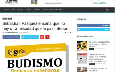«GuíaBurros: Budismo» se hace hueco en Casa de Letras.